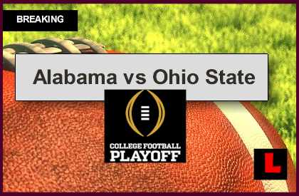 Alabama Vs Ohio State 2014 Score Ignites Sugar Bowl College