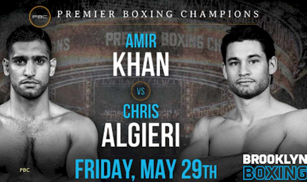 Khan vs Algieri Results: Who Wins the Amir Khan Boxing Fight Tonight
