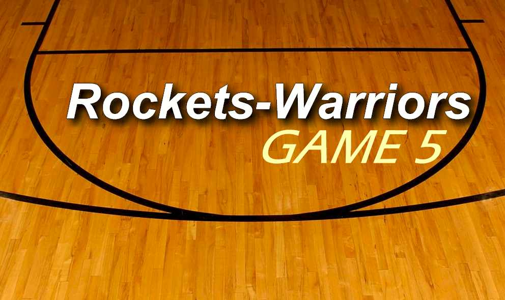 Rockets vs Warriors 2015 Score Ignites Game 5 Tonight May 27