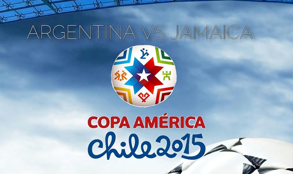 Argentina vs Jamaica 2015 Score En Vivo Prompts Copa America Resultados