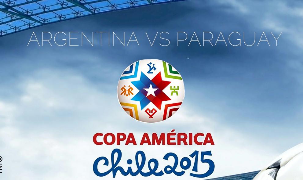 Argentina vs Paraguay 2015 Score En Vivo Ignites Copa America Results