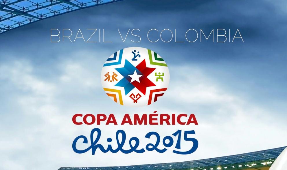Brazil vs Colombia 2015 Score En Vivo Ignites Copa America