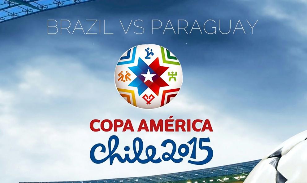 Brazil vs Paraguay 2015 Score En Vivo Updates Copa America 6/27