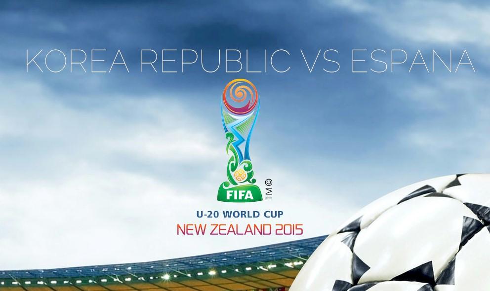 Korea Republic vs España 2015 Score En Vivo Updates Copa Mundial