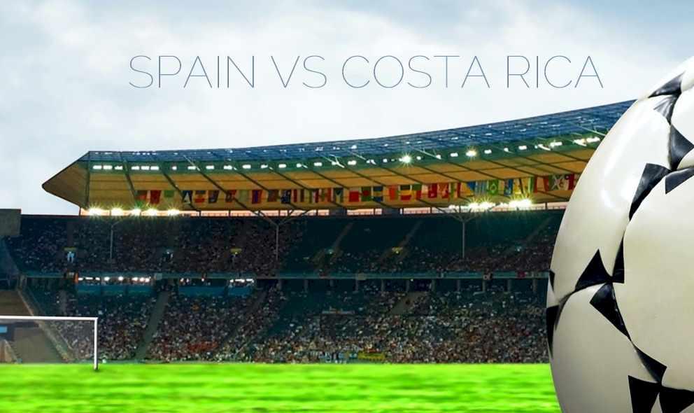 Spain vs Costa Rica 2015 Score En Vivo Prompts Copa Mundial Qualifier