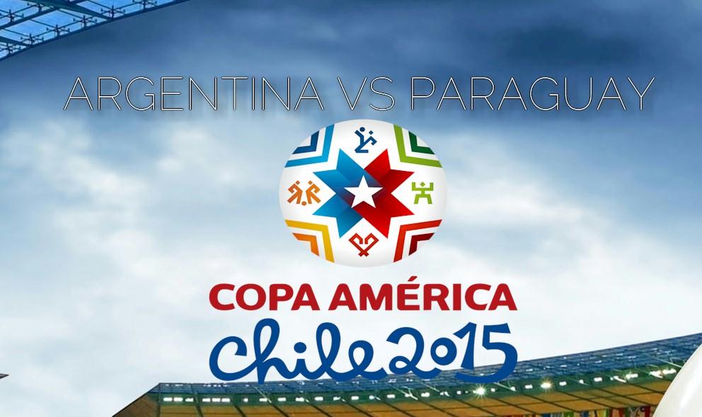 Argentina vs Paraguay 2015 Score En Vivo Ignites Copa America