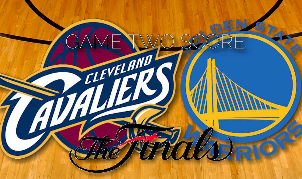 Cavaliers vs Warriors 2015 Score Heats up NBA Finals Game Two Results