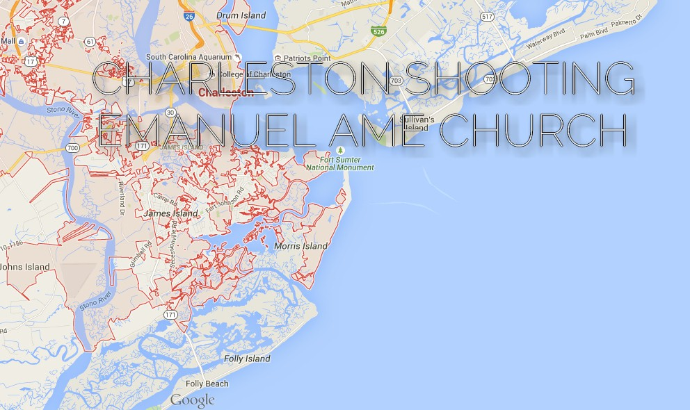 Charleston Shooting Strikes Emanuel AME Church Tonight 6/17