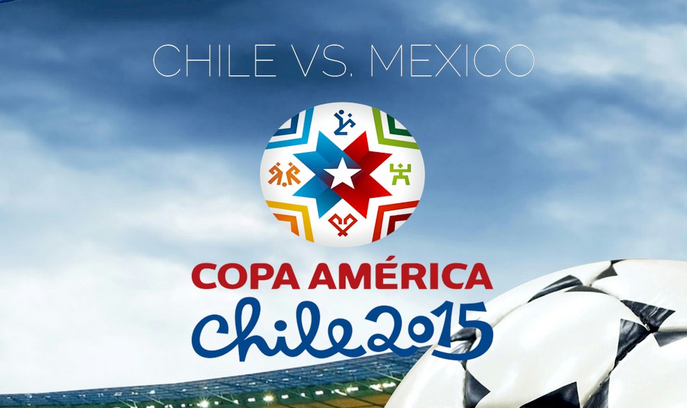 Mexico vs. Chile 2015 Score En Vivo Tied at Copa America Half