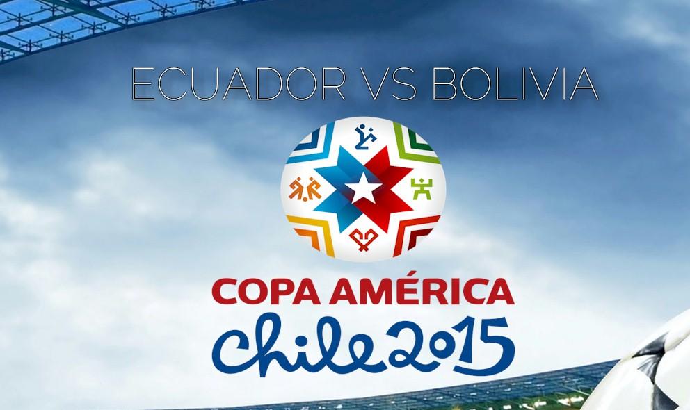 Ecuador vs Bolivia 2015 Score En Vivo Ignites Copa America Standings