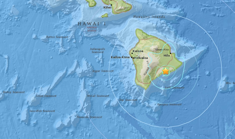 Hawaii Earthquake 2015 Today: 5.2 Strikes Volcano