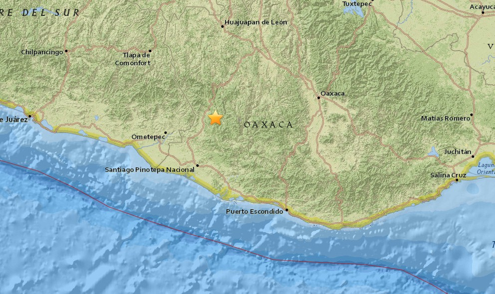 Mexico Earthquake 2015 Today: Terremoto Hits Oaxaca