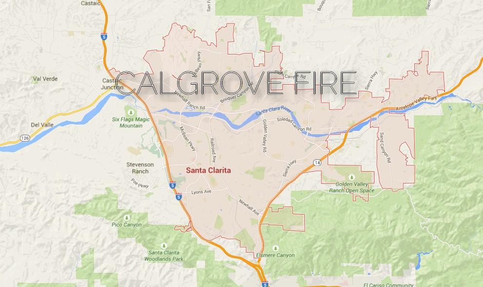 Santa Clarita Fire 2015 Calgrove Fire Evacuation Orders Issued