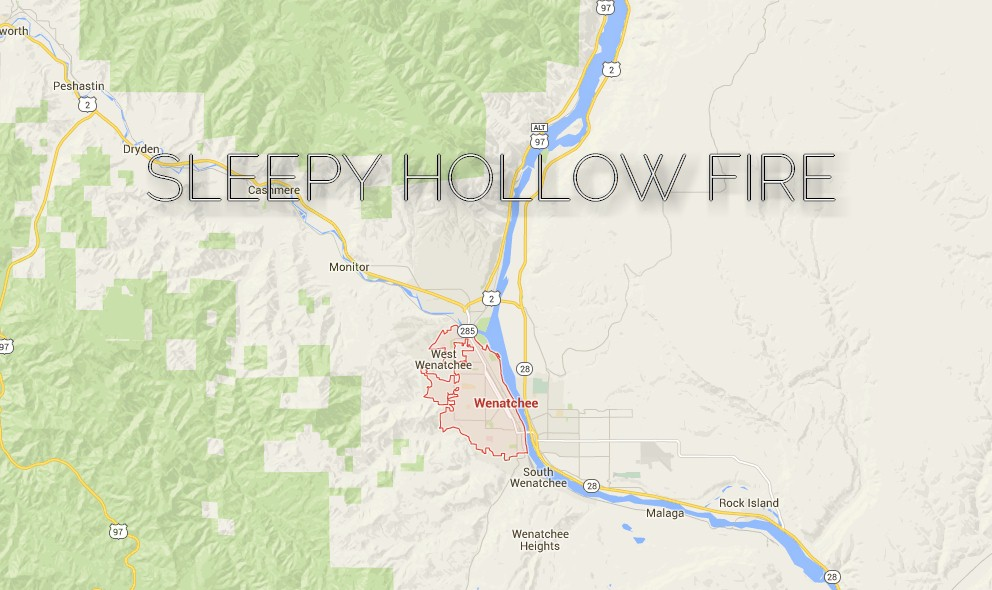 Sleepy Hollow Fire 2015 Washington: Wenatchee Wildfire Grows Further