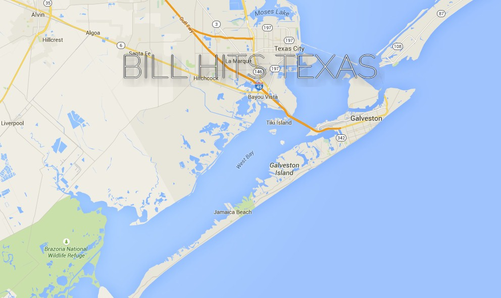 Tropical Storm Bill Galveston, Texas Updated by National Hurricane Center