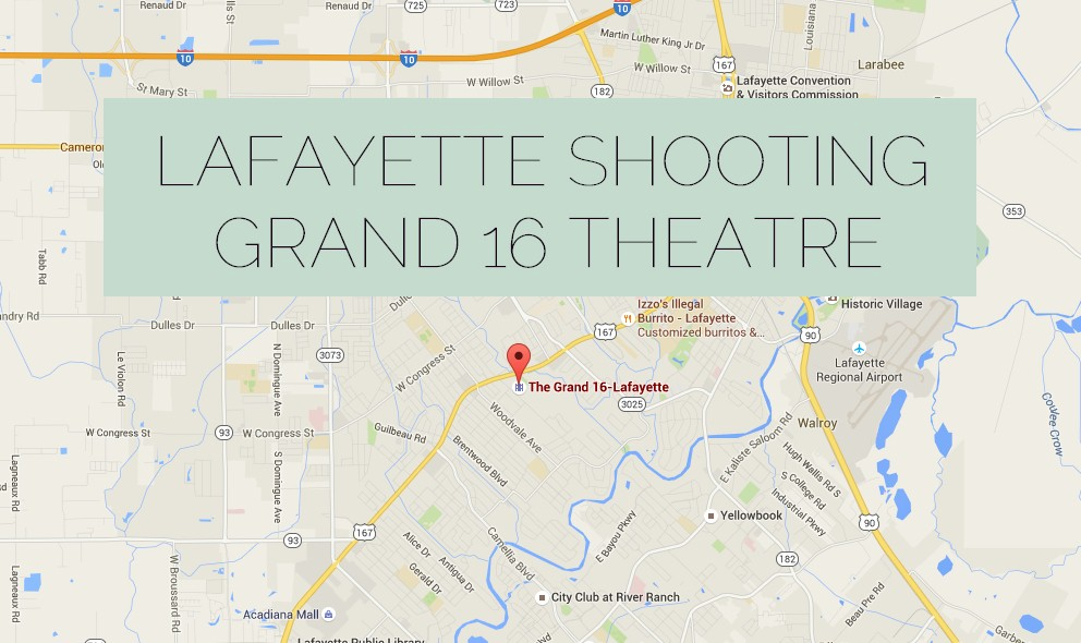 Lafayette Shooting Today: Grand 16 Theatre Gunman Name Withheld
