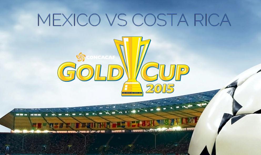 Mexico vs Costa Rica 2015 Score En Vivo Ignites Copa Oro Results