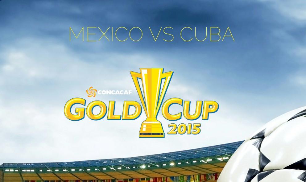 Mexico vs Cuba 2015 Score En Vivo Ignites Copa Oro Results