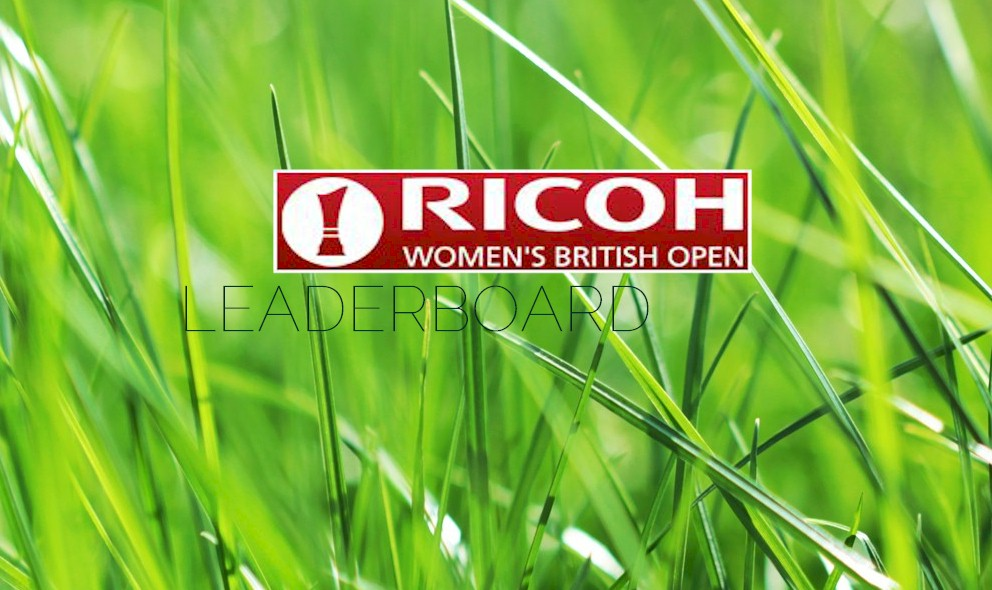 Women's British Open Leaderboard: Kim Surges on Ricoh LPGA Leaderboard