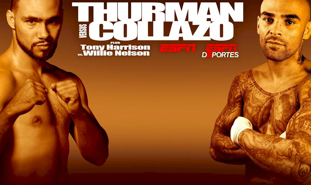 Thurman vs Collazo 2015 Results, Winner: What Time is Fight, Channel?