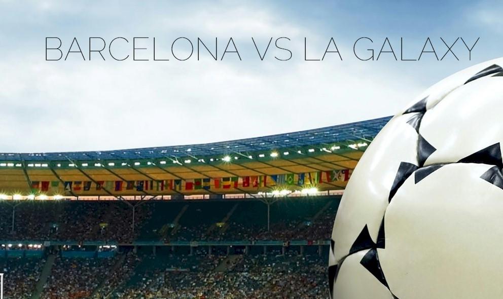 Barcelona vs LA Galaxy 2015 Score En Vivo Ignites Soccer Friendly 7/21