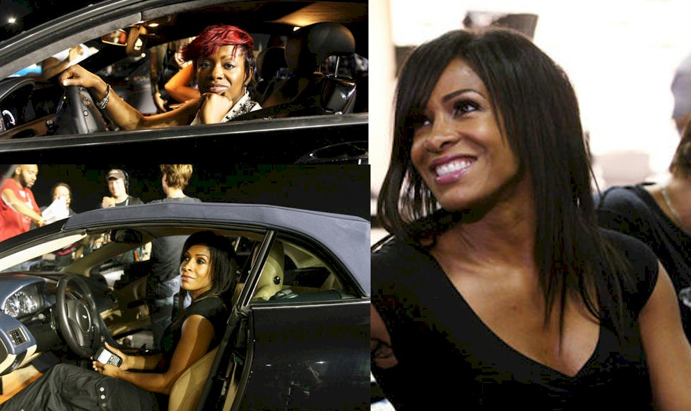 Kandi Burruss RHOA New Lead Ready To Race with Sheree Whitfield - EXCLUSIVE