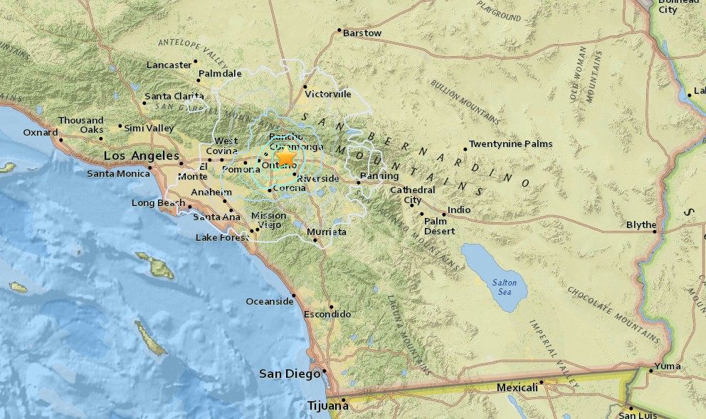Los Angeles Earthquake 2015 Today: Fontana Quake Strikes So Cal