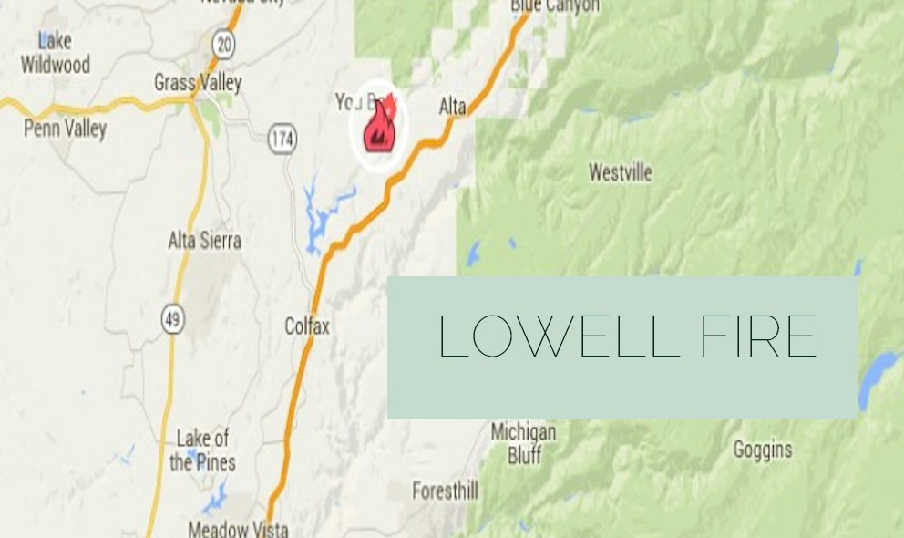 Lowell Fire 2015: Cal Fire West of Alta Reaches 30% Containment
