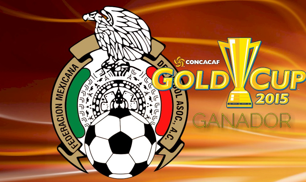 Mexico Wins Copa Oro 2015: Mexico Ganador of CONCACAF Gold Cup Soccer