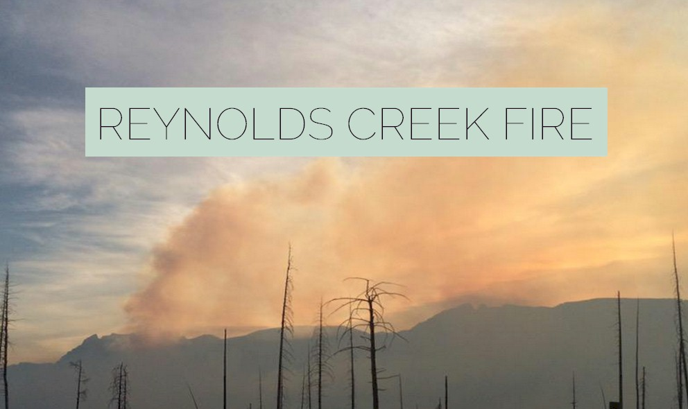 Reynolds Creek Fire 2015: Glacier National Park Fire Spreads in Montana