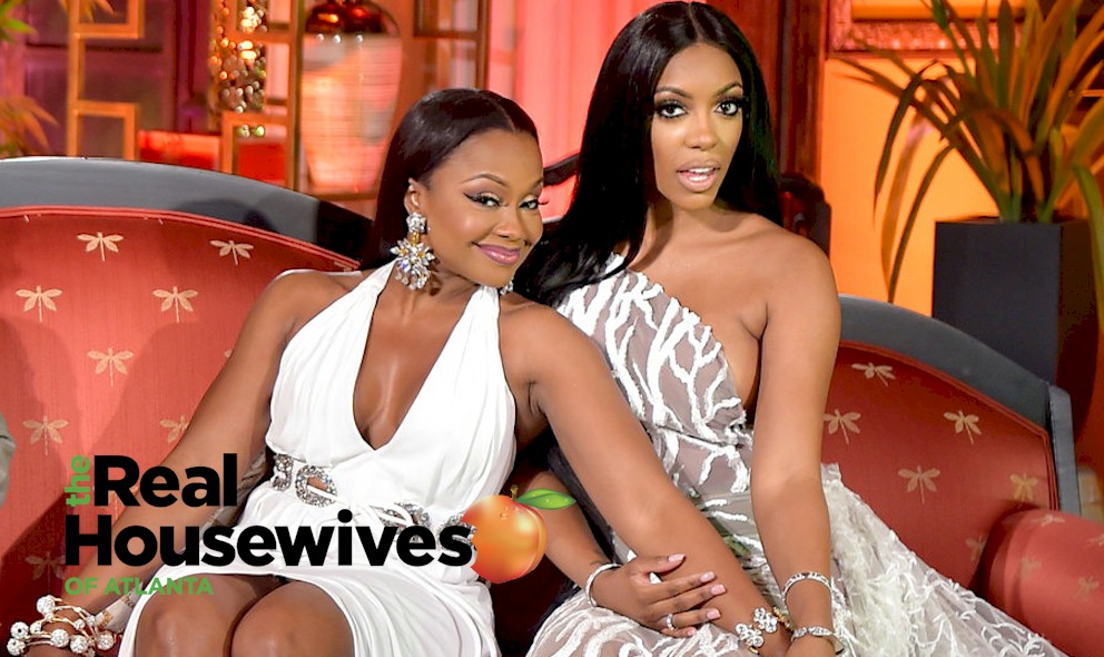 RHOA Kenya Moore, Phaedra Parks, Kandi Confront Mystery Wife: EXCLUSIVE