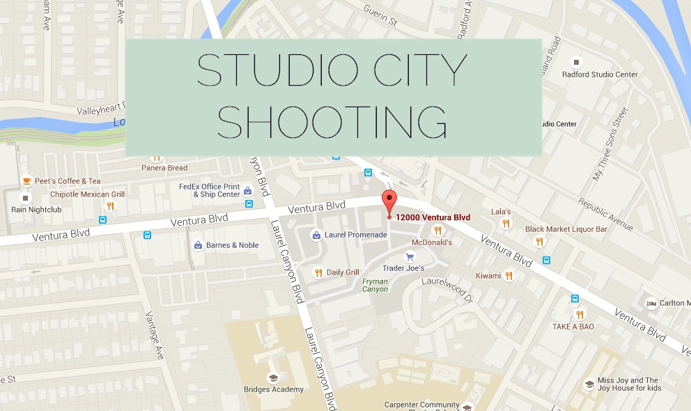 Studio City Shooting 2015 Today: Ventura Blvd Gunman Shot Dead by LAPD