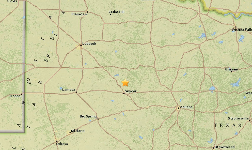Texas Earthquake Today 2015 Strikes West of Dallas, Fort Worth