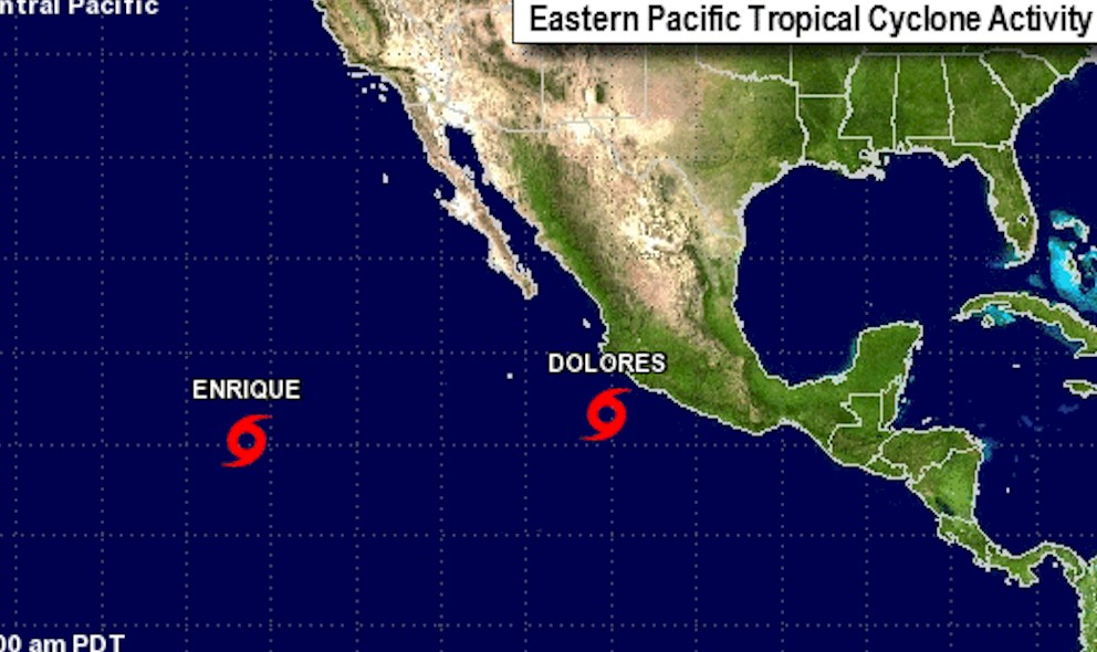 Tropical Storm Enrique Path Updated by National Hurricane Center