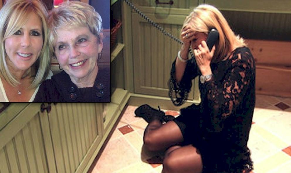 Vicki Gunvalson on Floor, Collapses: Mother Joanne Steinmetz Dies - EXCLUSIVE