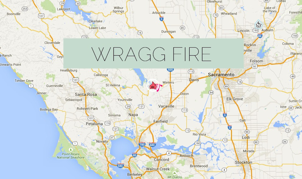 Wragg Fire 2015 Update Napa Fire Still Under Evacuation Today