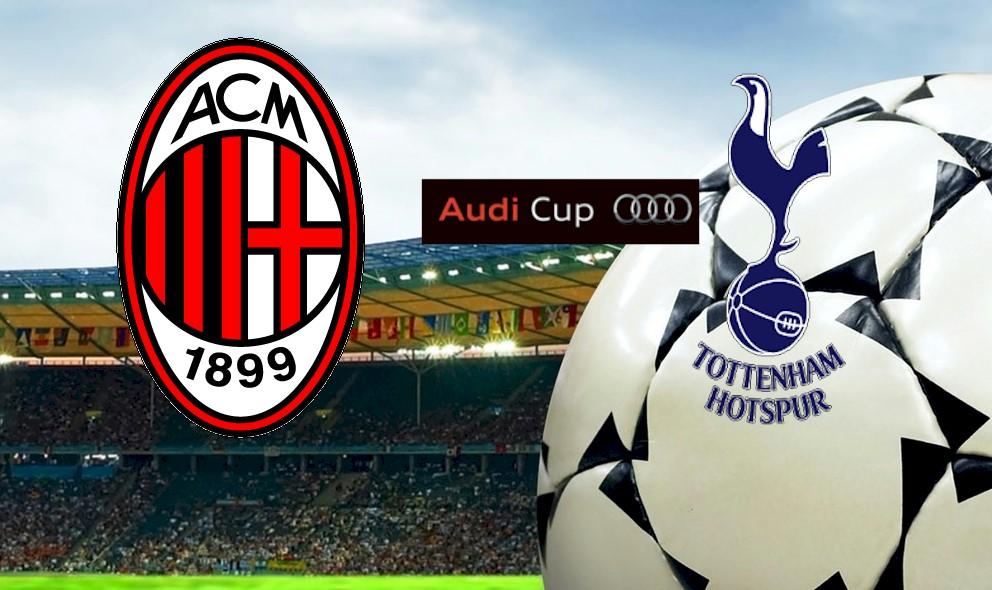 AC Milan vs Tottenham Hotspur 2015 Score Ignites Audi Cup Today