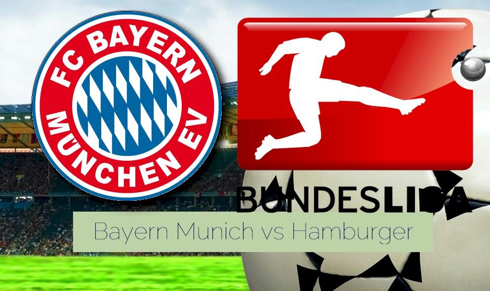 Bayern Munich vs Hamburger SV 2015 Score Prompts Bundesliga Battle