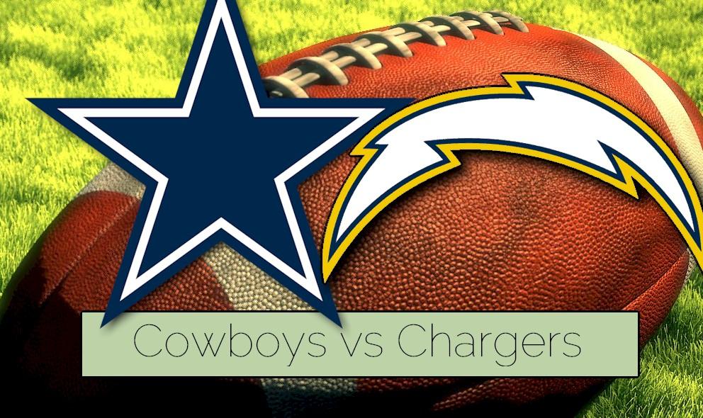 Cowboys vs Chargers 2015 Score Kicks of NFL Preseason Football