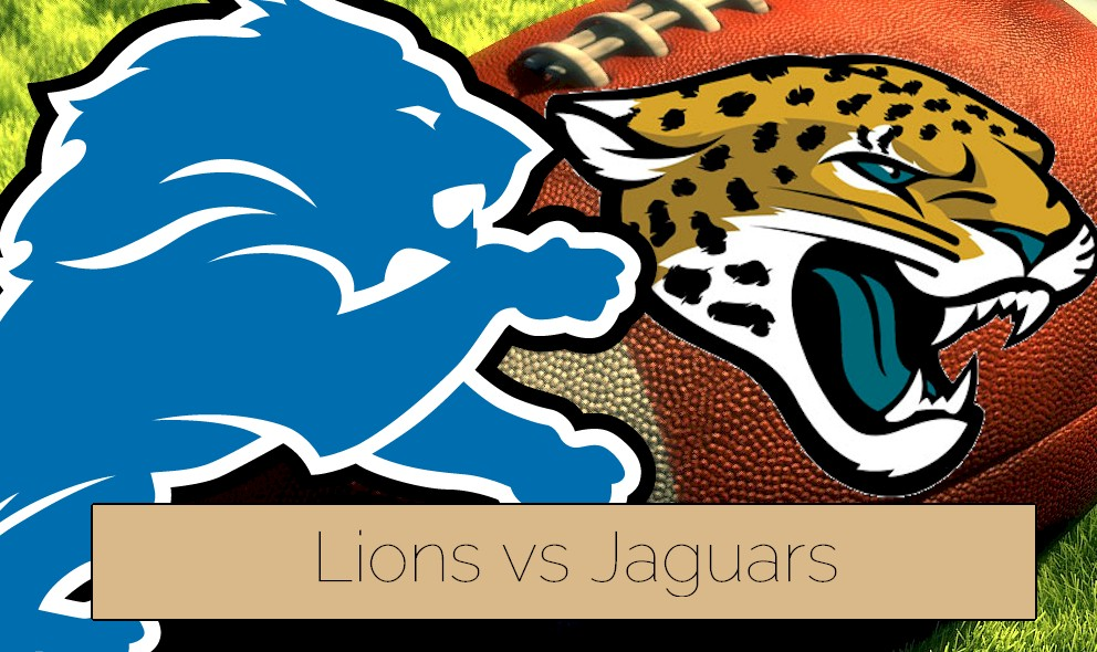 Lions vs Jaguars 2015 Score Heats up NFL Football Preseason Schedule