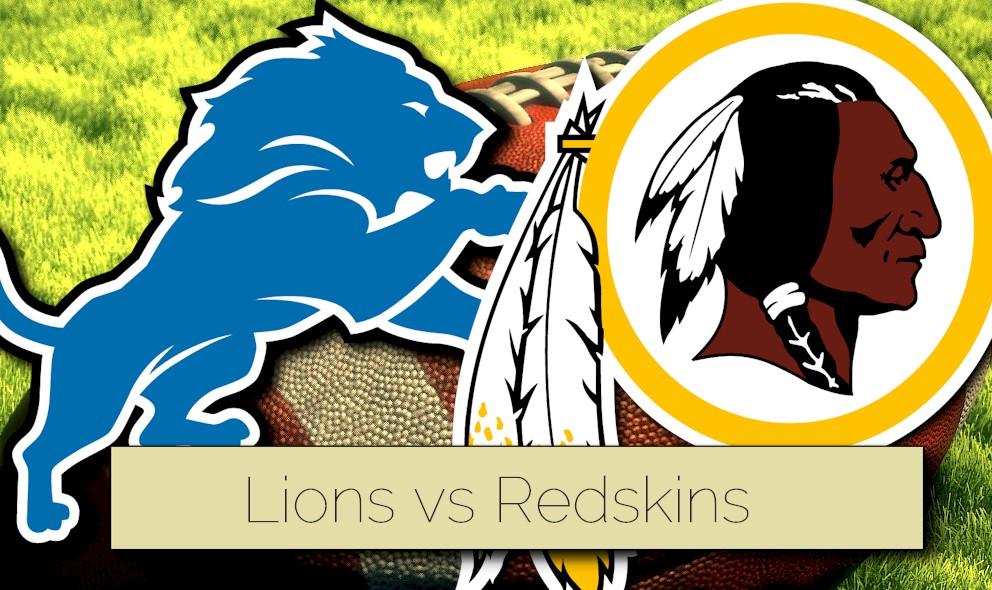 Lions vs Redskins 2015 Score Ignites NFL Preseason Football Schedule
