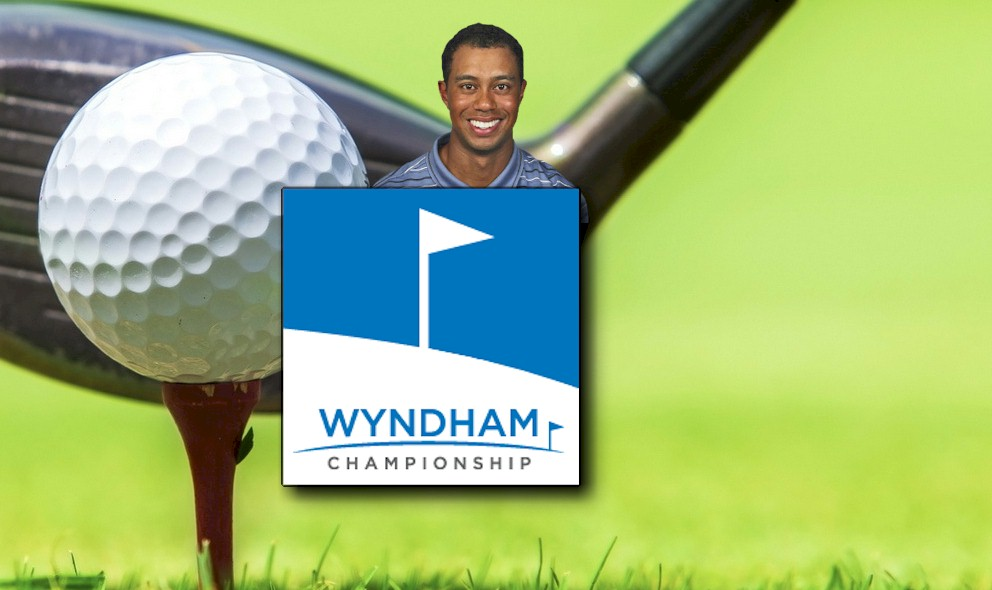 Tiger Woods Scores 64 on PGA Leaderboard Wyndham Championship 2015