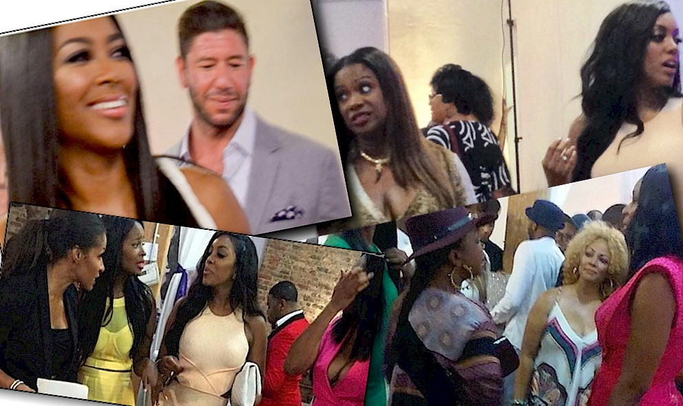 RHOA Kenya Moore Boyfriend, Amiyah Scott No Peach, Kandi Near Faints: EXCLUSIVE