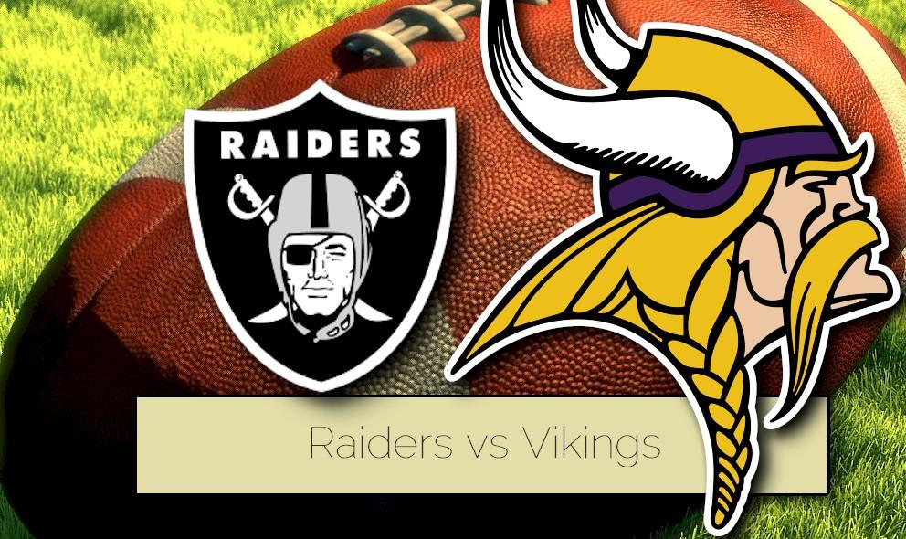 Raiders vs Vikings 2015 Score Heats up NFL Preseason Schedule