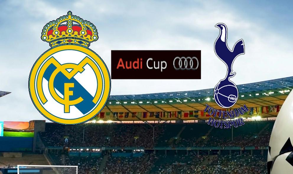 Real Madrid vs. Tottenham Hotspur 2015 Score En Vivo Ignites Audi Cup