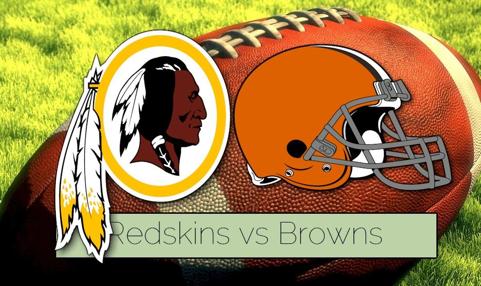 Preseason Football NFL Schedule 2015 Prompts Redskins vs Browns Score