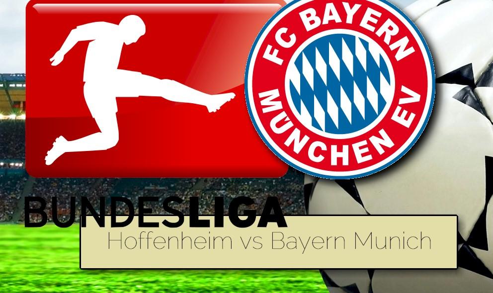 TSG Hoffenheim vs Bayern Munich 2015 Score Heats up Bundesliga Table