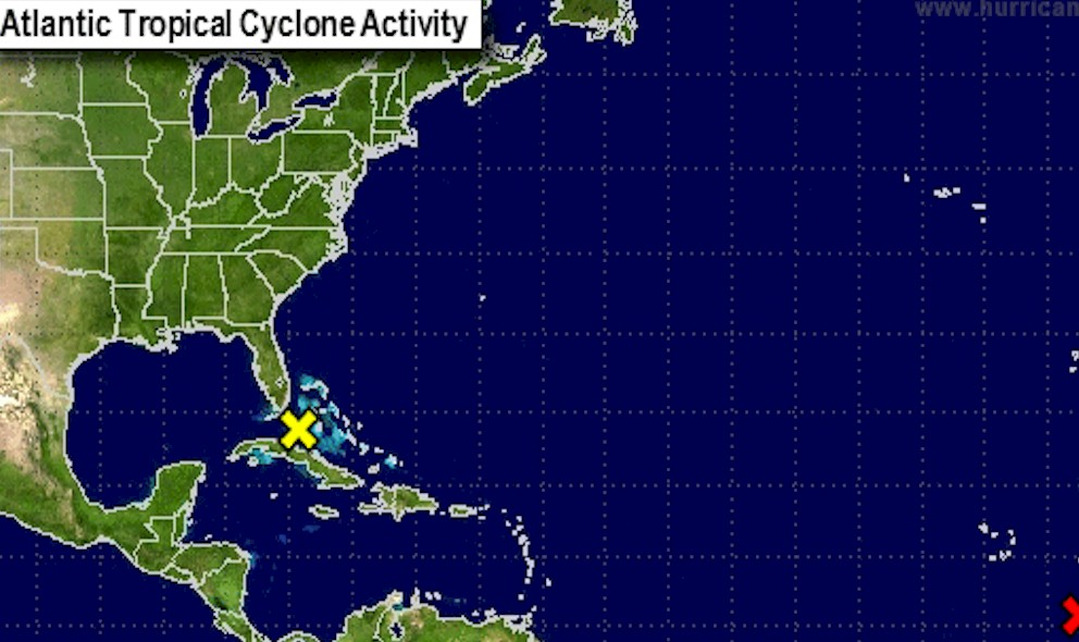 Tropical Storm Erika Projected Path Florida Cancelled Today