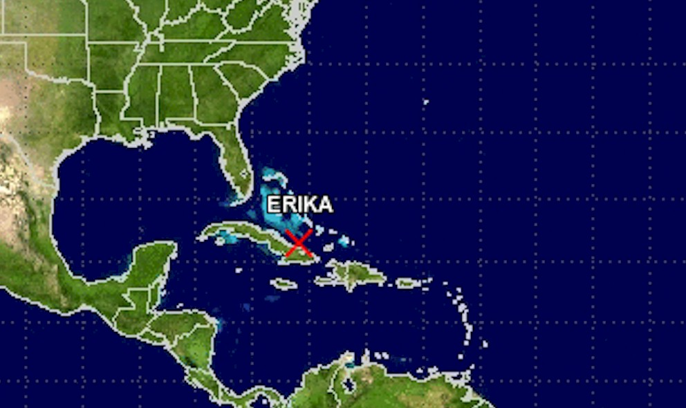 Tropical Storm Erika Projected Path Discontinued: Storm Falls Apart