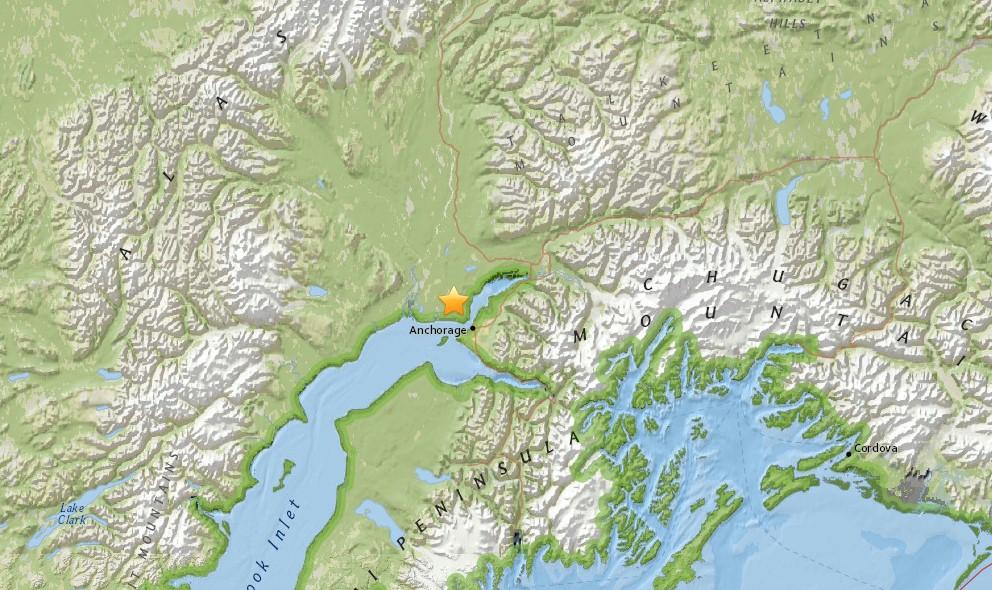 Oregon, Anchorage Alaska Earthquakes 2015 Erupt Today